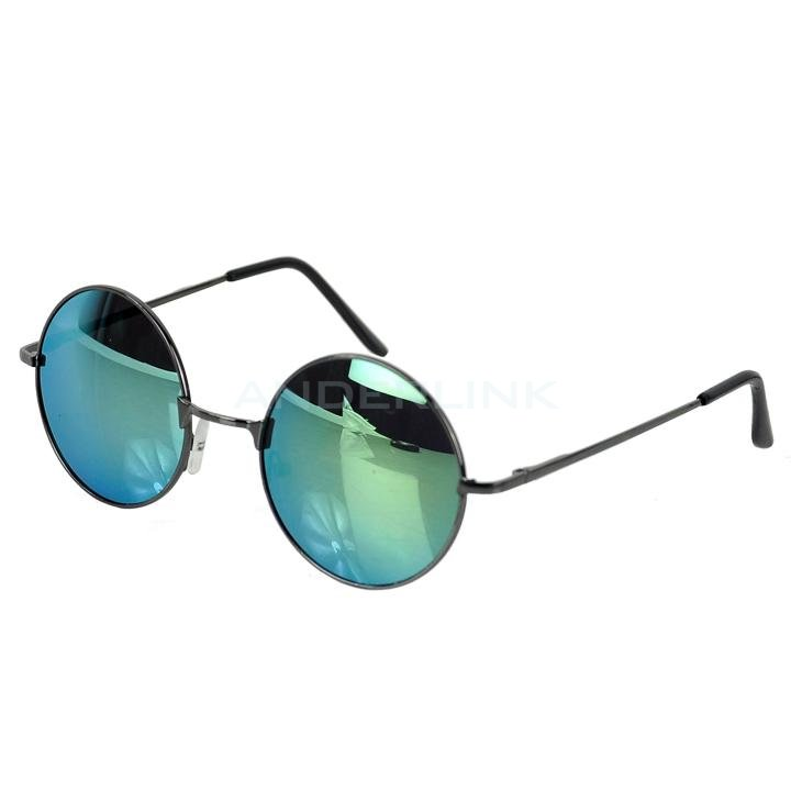 Hot Cool Vintage Style Unisex Sunglasses Colorful Round Frame Restoring Mirror 8 Colors