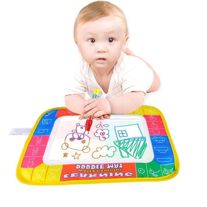 Water Drawing Toys Water Drawing Board & 1 Magic Pen Baby Play Mat T-19384