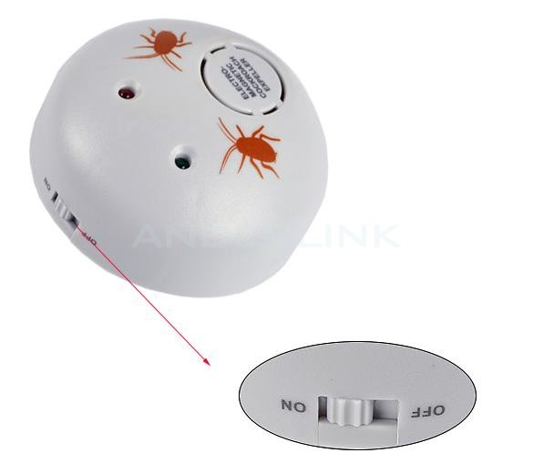 New Extra Electronic Ultrasonic Indoor Pest Control Repeller Cockroaches Expeller Bug Scare Machine