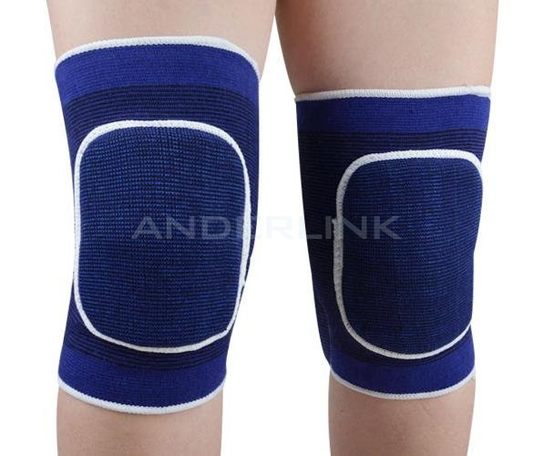 1 Pair Sponge Knee Wrap Support Elastic Brace Band Patella Sport Knee Pad Protective Band